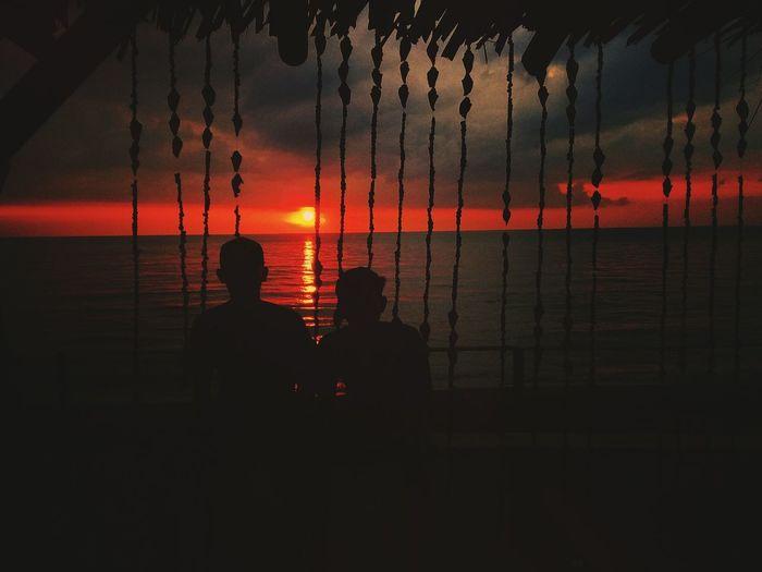 Sunset samsung J2 prime Samsung J2 Clicks Travel Destinations Scenics Sun Sunset People Nature Beach Outdoors