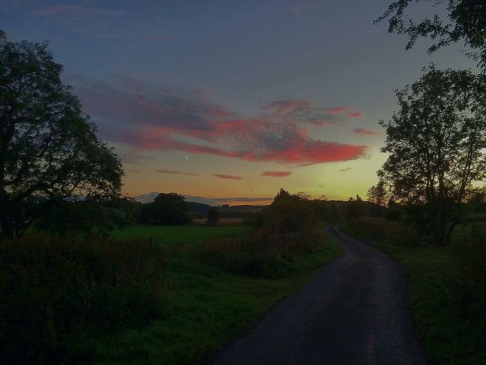Summer sunset St Andrews
