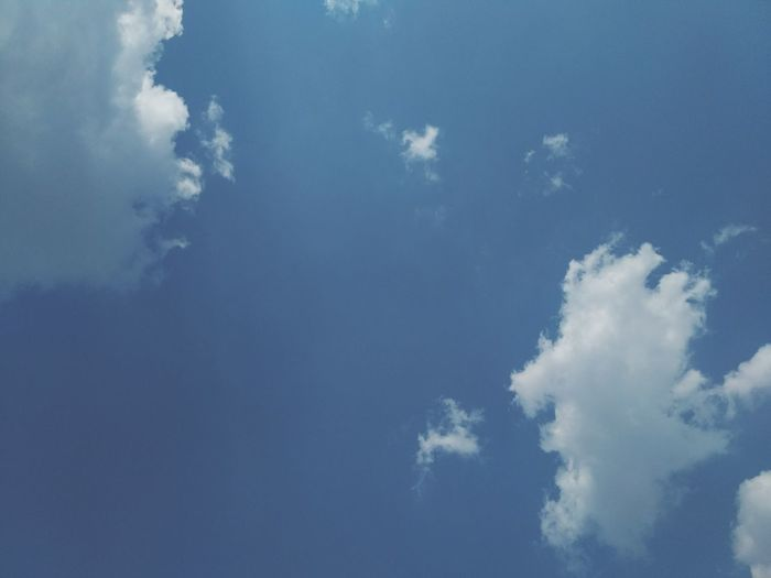 blue clouds sky background Cloud - Sky Sky Environment Nature Blue No People Beauty In Nature Outdoors Day Scenics - Nature Backgrounds Copy Space Landscape
