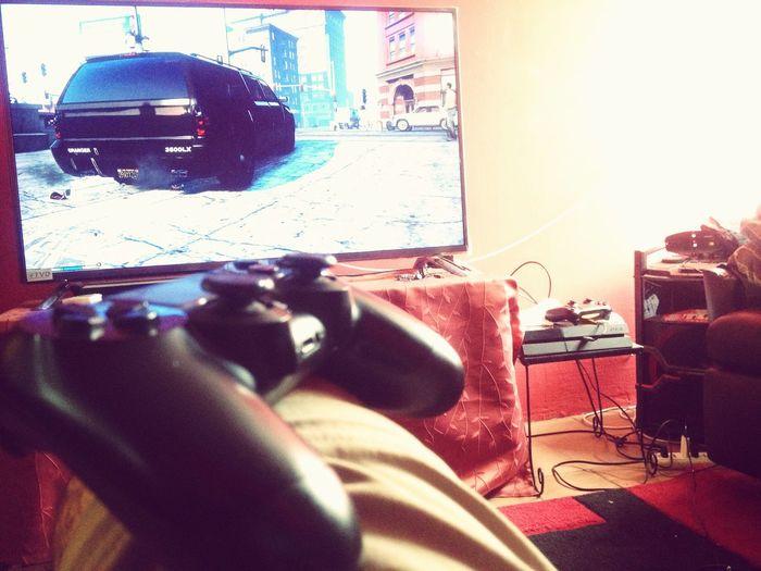 Playing GTA V. On Ps4 PS4 GTA V #basthlandert Santiago De Chile