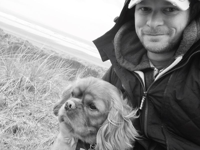 Saunton Sands Saturday morning cheesy selfie