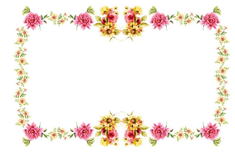 Frame Flower No