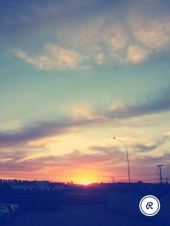 Deus é perfeito. .. Pordosol ...Rodovia anhanguera km 307.....17:44....RIBEIRÃO PRETO