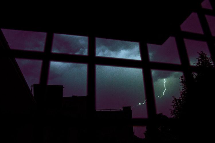 Window Sky Low Angle View Thunder WeekOnEyeEm Glitch EyeEmDiversity