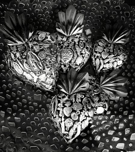 like a prayer Flames Promises ♡. Heart ❤ Mexican Style Exvoto Blackandwhite Photography Black And White Collection  Blackandwhite Silence Eyemphotography Eyemgallery Eyemphotos Lights And Shadows Full Frame Backgrounds Pattern Close-up Plant Detail