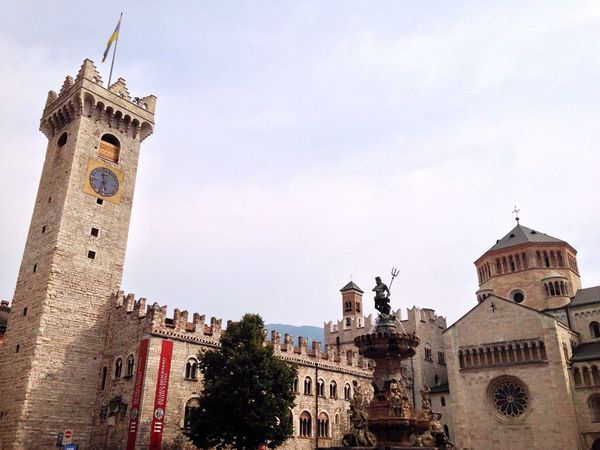 Trento Trentino  Trentino Alto Adige Italy Cathedral Architecture Built Structure Building Exterior Tower Place Of Worship Religion Spirituality Low Angle View Tree Travel Destinations Church Dome Sky History Tall - High Tourism Outdoors Famous Place High Section Exterior