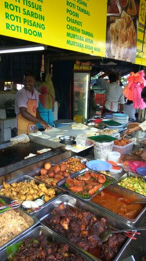 Retail  Food Food And Drink Market Stall Outdoors Choice Variation Day The Week Of Eyeem Malaysianfood Hungry Yet? Curries Galore Variety Is The Spice Of Life Indulgence Ready-to-eat Temptation Roti Canai Happy At Work Busy At Work