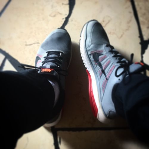Shoe Human Body Part Lifestyles Leisure Activity Real People Nike Sunday Morning Time For A Walk