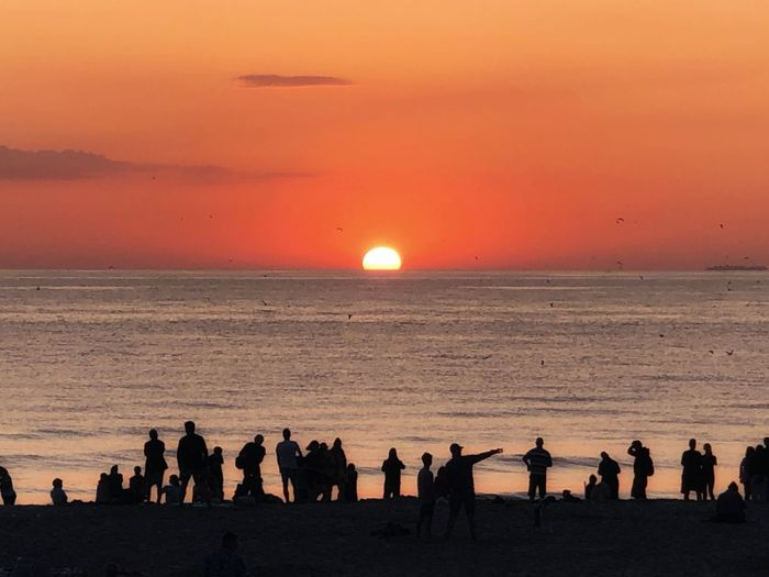 Sundown Sea Sky