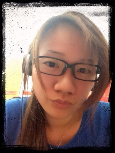 Tired after gym……and the coach is so~BT~haha~