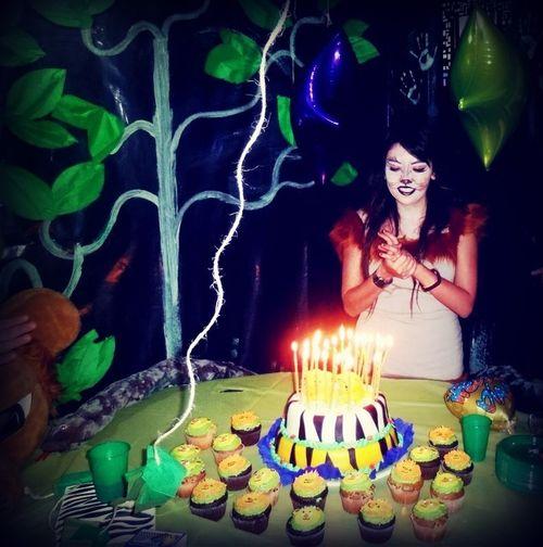 Enjoying Life Bday Cumpleaños Fiestas Tematicas