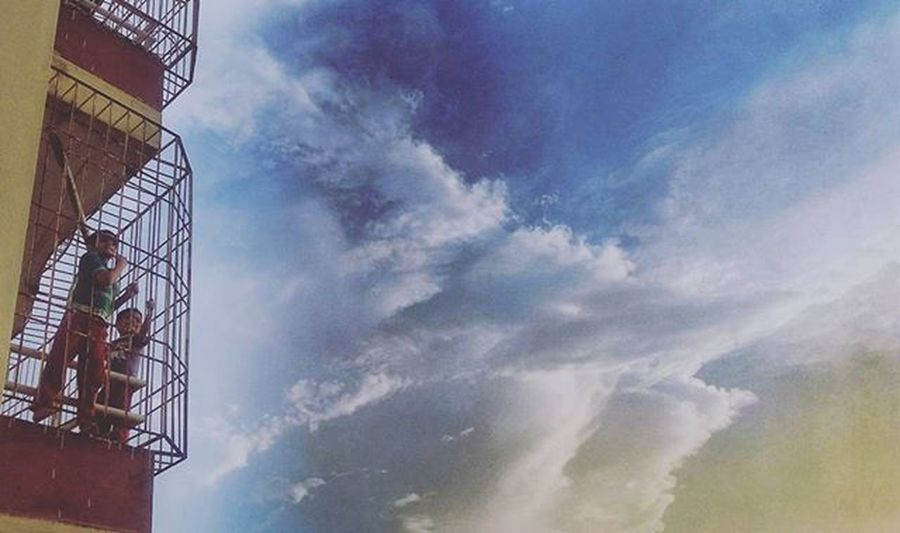 Kids Sky Building Grill Children Sunset Dusk Humanedge VSCO Vscocam Childhoodmemories Childrenphoto Visualscollective Peoplescreatives TBT  Instadaily Instagood 2instagood Justgoshoot Featuregram Featureme Instadaily Photographersofindia Photooftheday Instamood like4like follow4follow