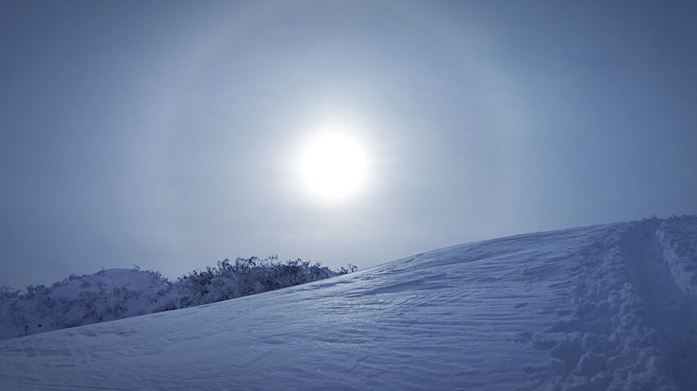 Sun Halo 登山 Sun Mountainclimbing Mountains 日暈 Trekking トレッキング Mountaineering Beautiful Nature It's Cold Outside Snowmountains Snowtrekking Snow ❄ Winter Nature Lover 雪山 Landscape Nature