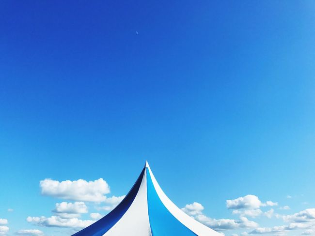 Tent Blue Day Sky Outdoors Bigtop Clouds And Sky Cloud And Sky Break The Mold Market Bestsellers 2017
