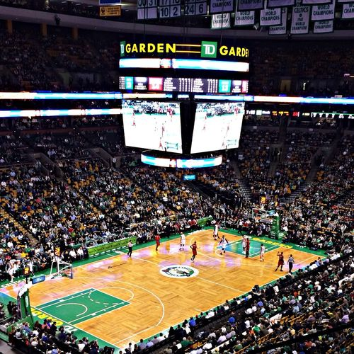 TDGardenCenter BostonCeltics Boston Basketball