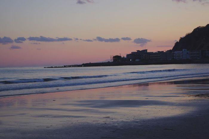 Sea Sunset Precious Memories Kamakura