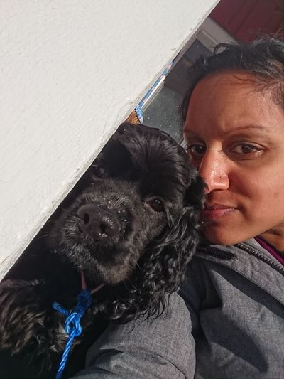 Me And My Dog 💗 Bella 💙 Sunny Day Winter