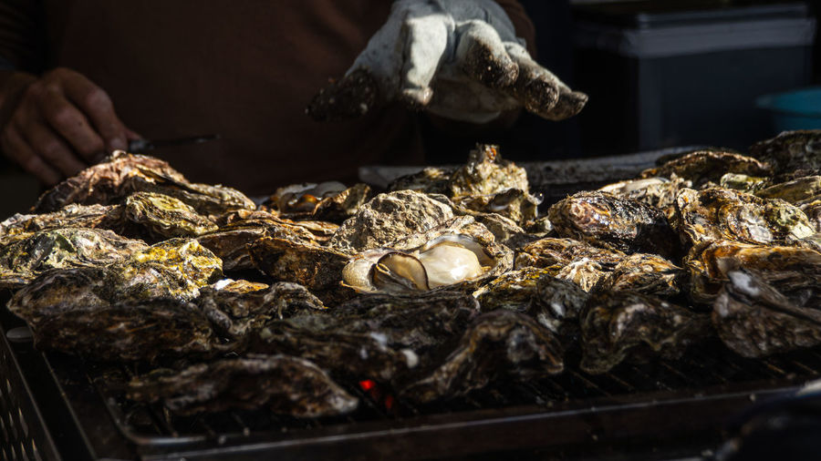 Miyajima oyster farming is the perfect place to experience the tastiest grilled oysters