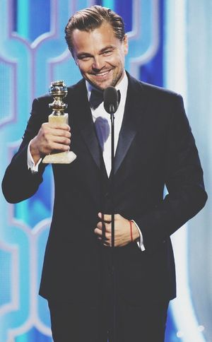 The king Leonardodicaprio  THEREVENANT Goldenglobes