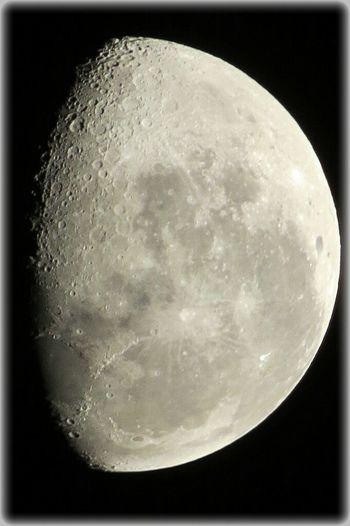 Canonsx50 Hello World:) The Moon Now Santiago