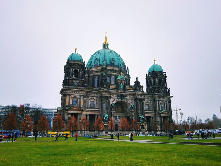 Alexanderplatz Berlin Architecture Berlin Building Exterior Built Structure Day Germany Museum Museumisland Museums Museumsinsel Museumsinsel Berlin No People Outdoors Sky