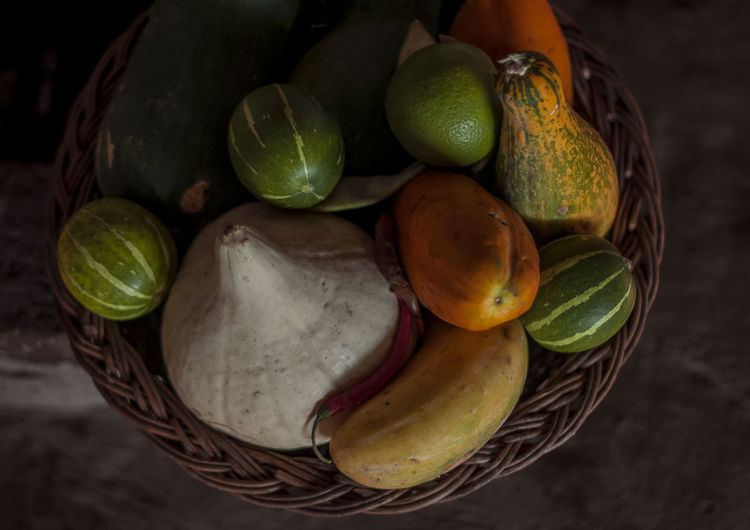 Zapallos Pumpkins Zapallos De Colores No People Vegetable Table High Angle View Close-up Green Color Group Of Objects Large Group Of Objects Healthy Eating Food Bodensee Grand Canyon Campo De Buenos Aires