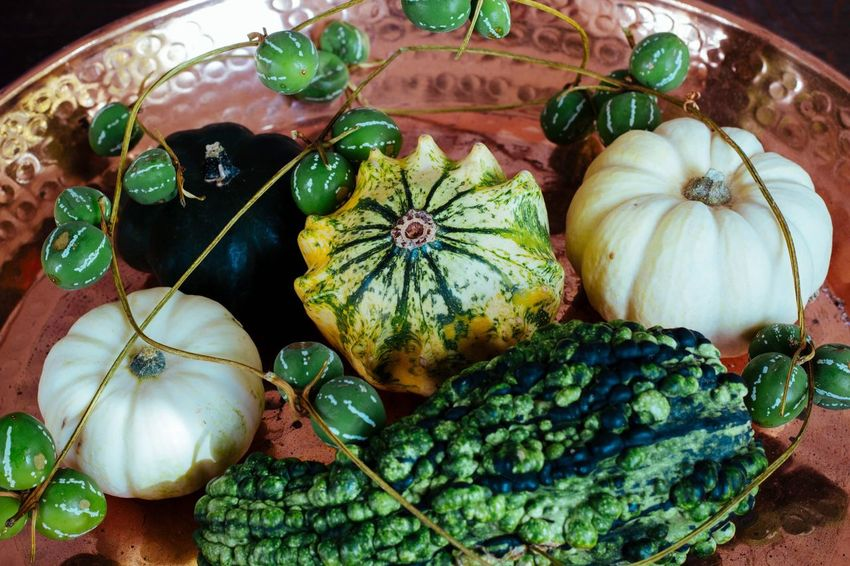 Vegetable Pumpkin Food Food And Drink Healthy Eating Freshness No People Squash - Vegetable Indoors  Leaf Close-up Brussels Sprout Gourd Day Foodphotography Autumn Colors