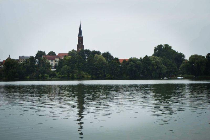 Poland Water Lough Architecture Park Love