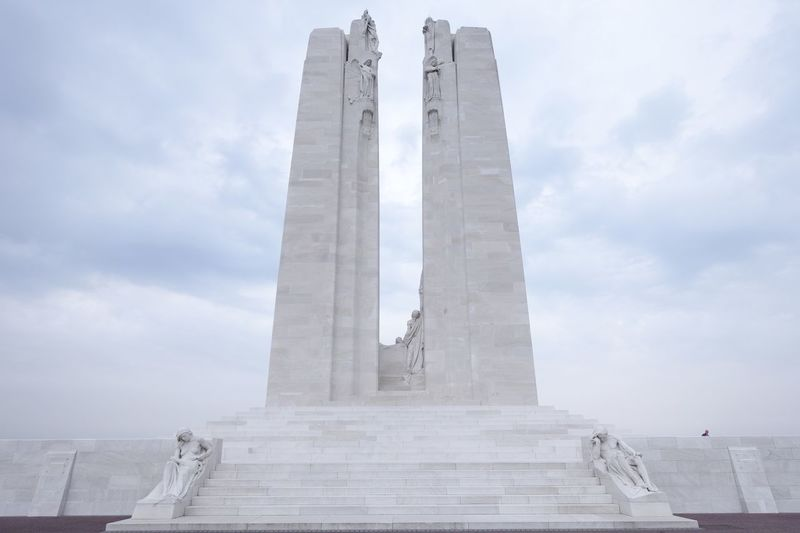 Vimy EyeEmNewHere War Memorial Canada Architecture History Built Structure Day Monument Memorial Sky No People