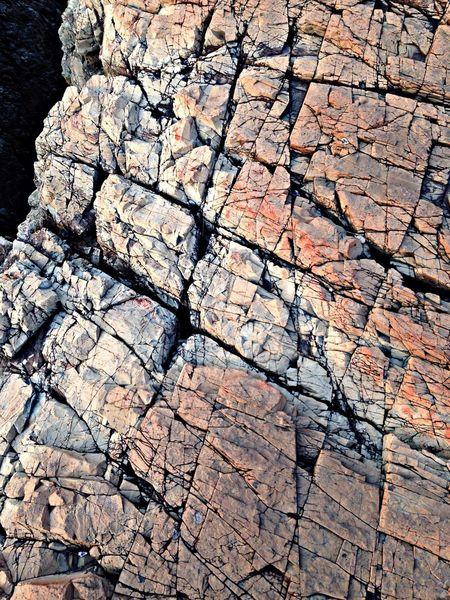 千畳敷の岩のテクスチャーがいい。 奈留島 離島