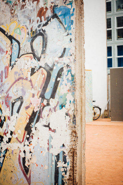 Architecture Berlin Built Structure Checkpointcharlie Day DDR East Germany Graffiti Outdoors The Berlin Wall