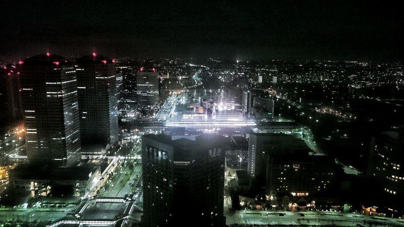 View of makuhari Makuhari Tokyo Japan Chiba Lightatnight City ASIA