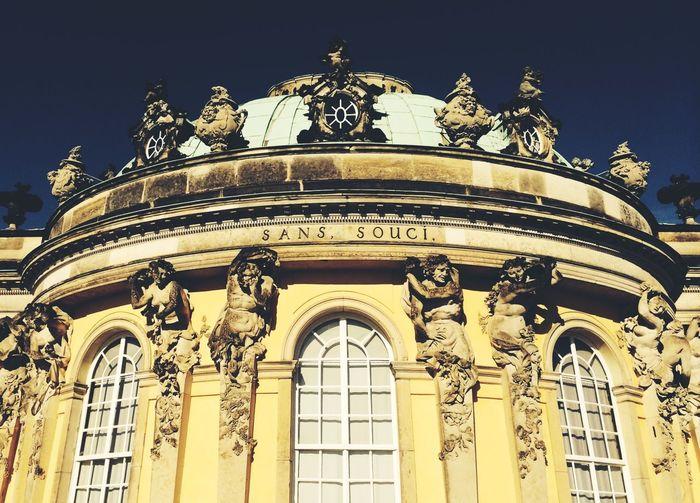 Sans Souci Castle Beautiful Places Around The World Castle Potsdam Architecture