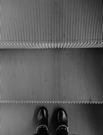 Subway Black & White Black And White Standing Eyeemphoto Subway Photography