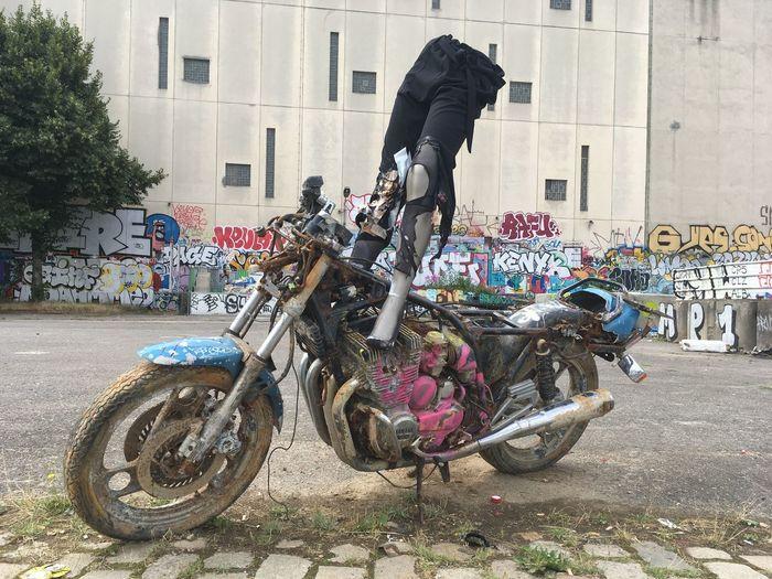 Natureagainsttown Abondoned City Graffiti