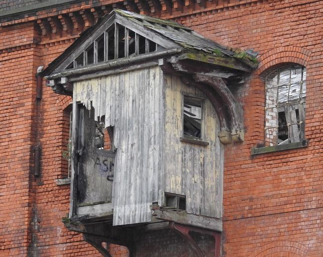 Building Exterior Built Structure Architecture Urban Decay Derby Outdoors No People Railway Heritage