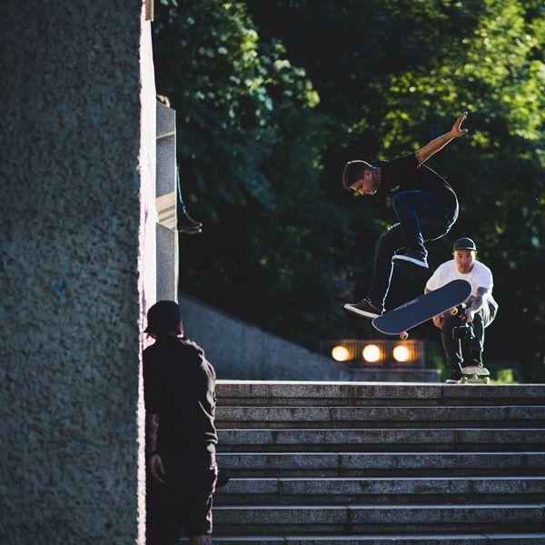 Skateboarding Streetphotography Outdoors Sport Skate Street