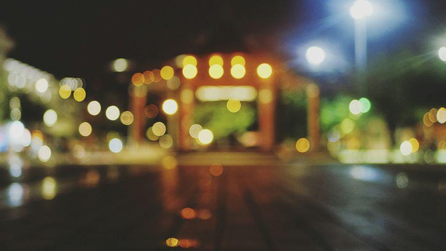 Floating Dots Streetphotography Night Night Lights Streetphoto_color City City Lights Outoffocus Bokeh Light Urban LINE Symmetry Minimal Cities At Night