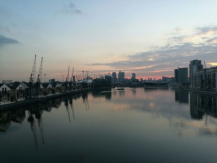 Royal victoria dock, London LondonDocklands Royalvictoria Sunset Sunset_collection RedSky