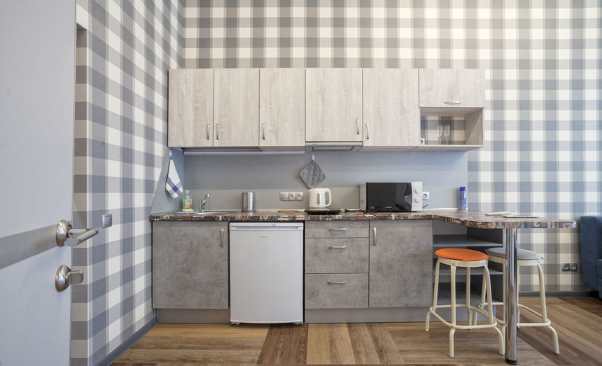 Cozy Indoow Kitchen Pantry