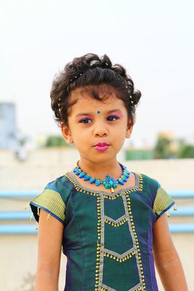 Childmodel Kidsphotography Terracotta Jewellery.. Ethnicwear Mayuriterracotta Traditional Culture Traditional Clothing Traditional Costume Indian Culture  Indiandress Indiangirl Indiankids