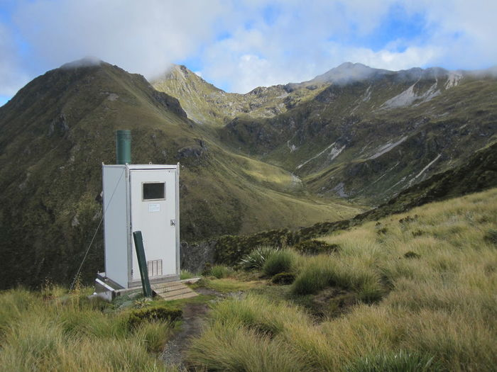 Mountain Scenics - Nature Grass Plant Nature No People Sky Cloud - Sky Beauty In Nature Landscape Day Environment Non-urban Scene Tranquility Tranquil Scene Mountain Range Land Green Color Outdoors Remote New Zealand Kepler Track