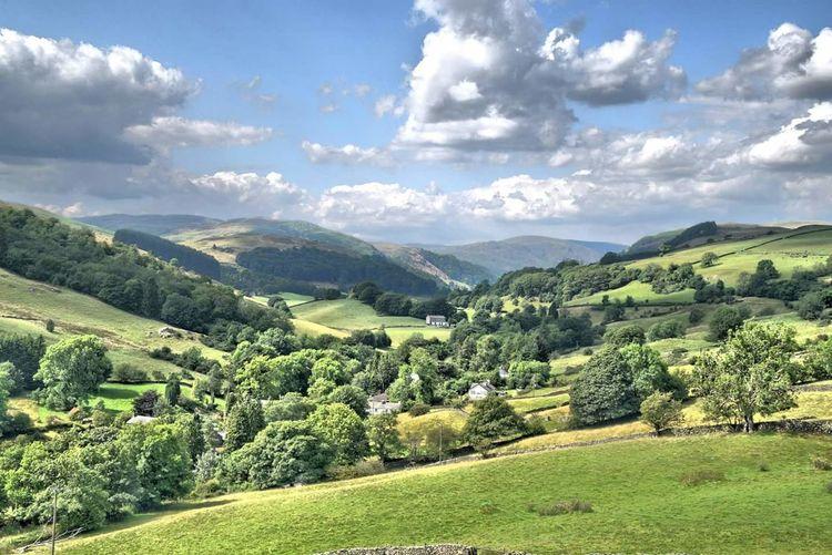 Longsleddale Cumbria Kendal Landscape
