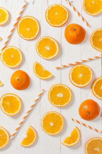 Oranges arrangement Citrus Fruit Cross Section Day Food Food And Drink Freshness Fruit Healthy Eating High Angle View Indoors  No People Orange - Fruit Orange Color Orange Juice  SLICE Studio Shot Vitamin Vitamin C Whole EyeEmNewHere