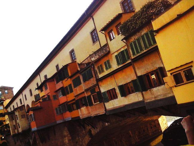 Ponte Vecchio-Florence True Colors Bridge Beautiful View Bridge - Man Made Structure