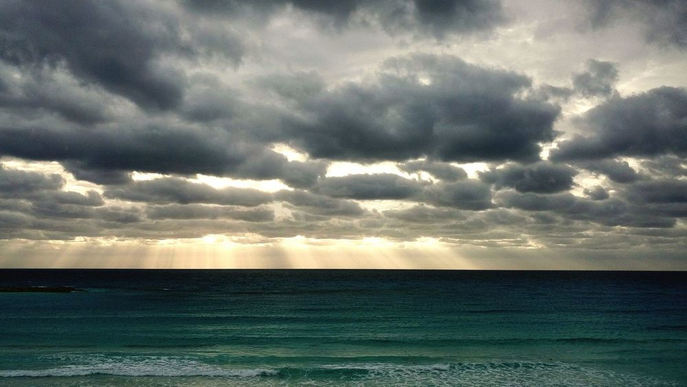 Cancun Cancunbeach Cancun Mexico Cloud - Sky Dramatic Sky Beauty In Nature Nature Scenics Cloudscape Sky Weather Outdoors Storm Cloud Tranquility No People Day Landscape Sunset Rural Scene EyeEmNewHere Colour Your Horizn Go Higher Summer Road Tripping