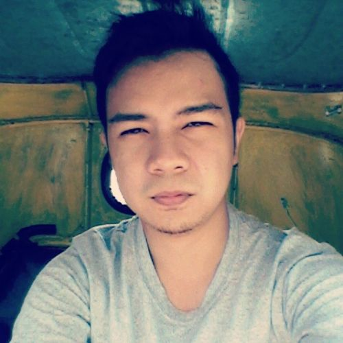 This is how summer looks like. Lol! Epic. Tricycle AlongTheWay Selfietest Cavite hotmay