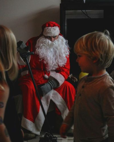 Christmas Around The World Joulupukki Santaclaus Finland Pälkäne Youth Of Today The Portraitist - 2016 EyeEm Awards Found On The Roll
