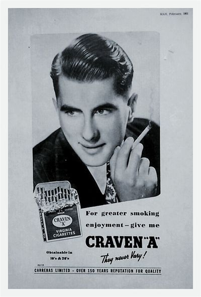 WesternScript One Person Tobacco Check This Out Black And White Text&images Tobacco Cigarettes Smoking Coffin Nails 1951 Blackandwhite Black & White Old Poster Oldposter Smoking Kills Carreras Limited Carcinogenic Smokingkills Cigarettes Kill Quit Smoking  Cigarette  Cancer Sticks Posters Poster Craven 'A' Poster Collection Postercollection Oldposters CarrerasLimited