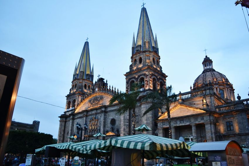 Trip Tomando Fotos Explorando Urban Enjoying Life Taking Photos Arquitecture Cities At Night Guadalajara Guadalajara Jalisco Mexico Hanging Out Arquitectura Church Night